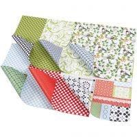 Design Paper, 30,5x30,5 cm, 120 g, 30 ass sheets/ 1 pack