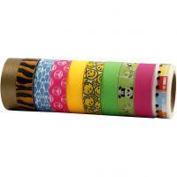 Washi Tape, W: 15 mm, 10x10 m/ 1 pack