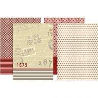 Decoupage Paper, 25x35 cm, 17 g, 8 ass sheets/ 1 pack