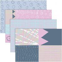 25x35 cm, 17 g, pastel colours, 80 ass sheets/ 1 pack