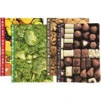 Decoupage Paper, 25x35 cm, Content may vary , 17 g, 400 ass sheets/ 1 pack