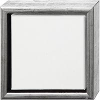 ArtistLine Canvas with frame, depth 3 cm, size 19x19 cm, white, 6 pc/ 1 pack