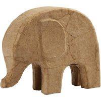 Elephant, H: 14 cm, L: 17 cm, 1 pc