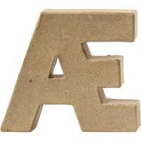 Letter, Æ, H: 10 cm, thickness 2 cm, 1 pc