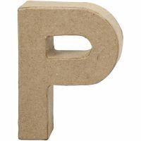 Letter, P, H: 10 cm, W: 7,7 cm, thickness 1,7 cm, 1 pc