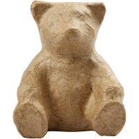 Bear, H: 8 cm, 1 pc