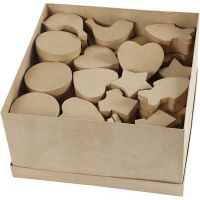 Boxes, size 6-11 cm, 63 pc/ 1 pack