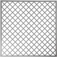 Stencil, squares, size 30,5x30,5 cm, thickness 0,31 mm, 1 sheet