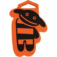 Foam Stamp, Dog, size 84x108 mm, thickness 22 mm, 1 pc