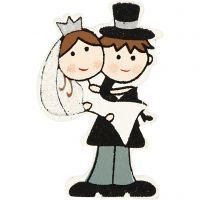Wedding, H: 50 mm, 4 pc/ 1 pack
