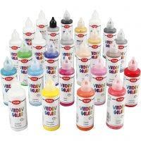 Viva Decor Window Color, assorted colours, 25x90 ml/ 1 pack