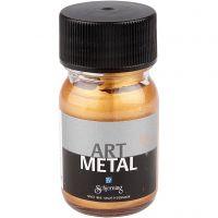 Craft paint metallic, medium gold, 30 ml/ 1 bottle