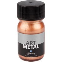 Craft paint metallic, copper, 30 ml/ 1 bottle