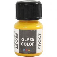 Glass Color Frost, yellow, 30 ml/ 1 bottle