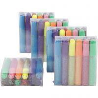 Glitter Glue, 60x10 ml/ 1 pack