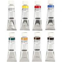Schmincke AKADEMIE® Acryl color, 8x60 ml/ 1 pack