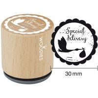Wooden Stamp, 1 pc