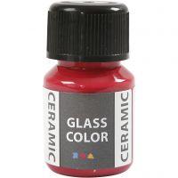 Glass Ceramic, carmine red, 35 ml/ 1 bottle