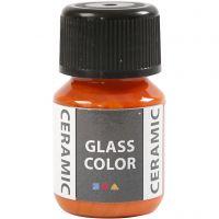 Glass Ceramic, orange, 35 ml/ 1 bottle