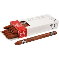 Neocolor I Crayons, L: 10 cm, thickness 8 mm, russet (065), 10 pc/ 1 pack