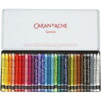 Neocolor II, L: 10 cm, assorted colours, 30 pc/ 1 pack