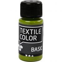 Textile Color Paint, kiwi, 50 ml/ 1 bottle