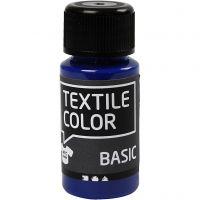 Textile Color Paint, primary blue, 50 ml/ 1 bottle