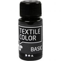 Textile Color Paint, black, 50 ml/ 1 bottle