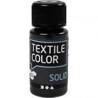 Textile Solid, opaque, black, 50 ml/ 1 bottle