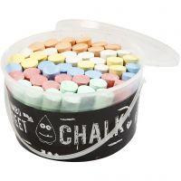 Sidewalk Chalk, 50 pc/ 1 bucket