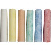 Sidewalk Chalk, 6 pc/ 1 pack