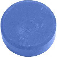 Watercolour, H: 16 mm, D: 44 mm, blue, 6 pc/ 1 pack