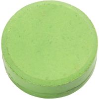 Watercolour, H: 19 mm, D: 57 mm, green, 6 pc/ 1 pack