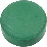 Watercolour, H: 19 mm, D: 57 mm, dark green, 6 pc/ 1 pack