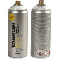 Spray Lacquer, semi-glossy, 400 ml/ 1 tub