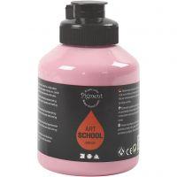 Pigment Art School Paint, opaque, dusty rose, 500 ml/ 1 bottle
