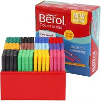 Berol Marker, line 1-1,7 mm, assorted colours, 288 pc/ 1 pack
