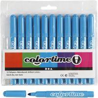 Colortime Marker, line 5 mm, light blue, 12 pc/ 1 pack