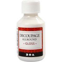 Decoupage Varnish, glossy, 100 ml/ 1 bottle