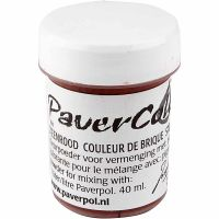 Pavercolor, terracotta, 40 ml/ 1 bottle