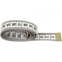 Tape Measure, L: 150 cm, 6 pc/ 1 pack