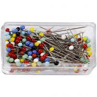 Head Pins, L: 31 mm, 200 pc/ 1 pack