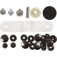 Press Fastener - Starter Set, D: 15 mm, 1 set