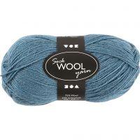 Sock Yarn, L: 200 m, petrol, 50 g/ 1 ball