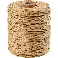 Paper Yarn, natural, 150 m/ 1 roll, 250 g