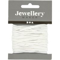 Polyester Cord, thickness 2 mm, white, 8 m/ 1 roll