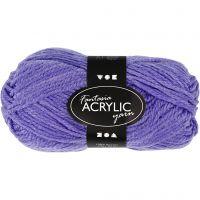 Fantasia Acrylic Yarn, L: 80 m, purple, 50 g/ 1 ball