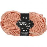 Fantasia Acrylic Yarn, L: 80 m, beige, 50 g/ 1 ball