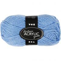 Fantasia Acrylic Yarn, L: 80 m, blue, 50 g/ 1 ball