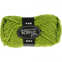 Fantasia Acrylic Yarn, L: 35 m, size maxi , green, 50 g/ 1 ball